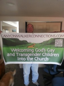 Mark with Banner