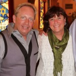 Pastor Tony Hoult, GFICJ & Kathy