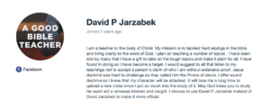 David P Jarzabek, David Jarzabek