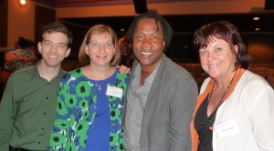 Matthew Vines, Jane Clementi, Roger Ross Williams and Kathy