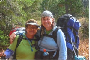 Hiking the Sierra with my buddy Netto, God's gift to me to learn grace.