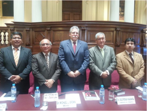 Michael Brown in Parliament of Peru