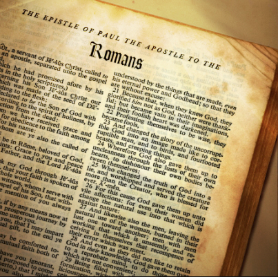 Book of romans talks about homosexuality