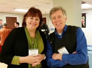 With Vineyard pastor, Ken Wilson at TRP.