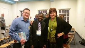 With transgender Christians at The Reformation Project, DC.