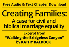 Creating-Families Walking the Bridgeless Canyon