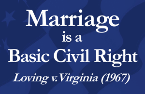 Same-sex marriage is a civil right