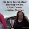 Kim Davis in Contempt of Court