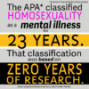 Homosexuality as a Mental Illness