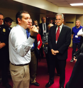 Ted Cruz and Michael Brown