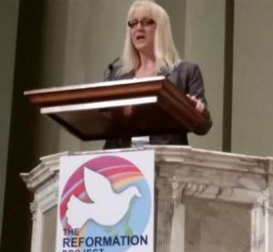 Alyson Robinson, transwoman & pastor