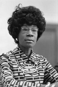 NY Rep. Shirley Chisholm