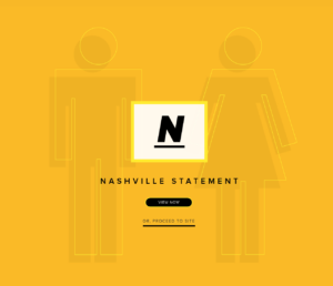 The Nashville Statement, ERLC