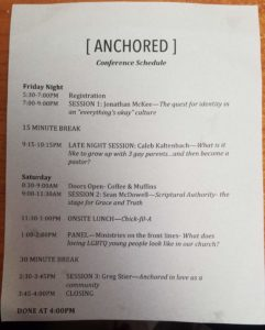 Anchored Leadership Conference