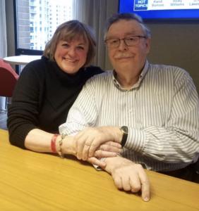 Kathy Baldock and Rev. David
