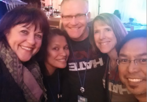 Kathy with The Robertsons & Cortezs at GCN Conf.