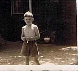 Little closet gay boy ( about 1938) in Tennessee.