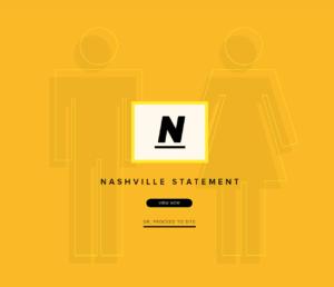 The Nashville Statement, ERLC